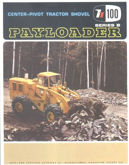 HELP PLEASE *** IH HOUGH PAYLOADER H400-A - IH Construction