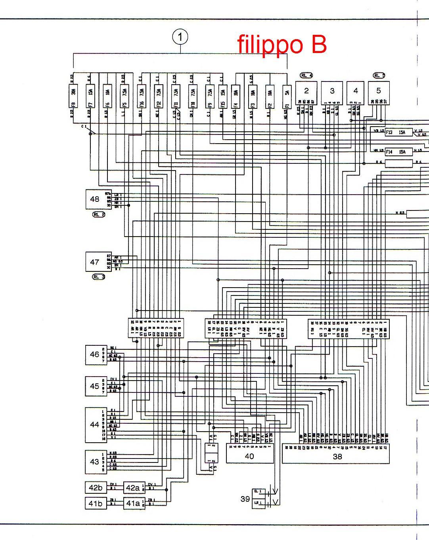 Schema Di Cablaggio : Schema elettrico tce forum macchine