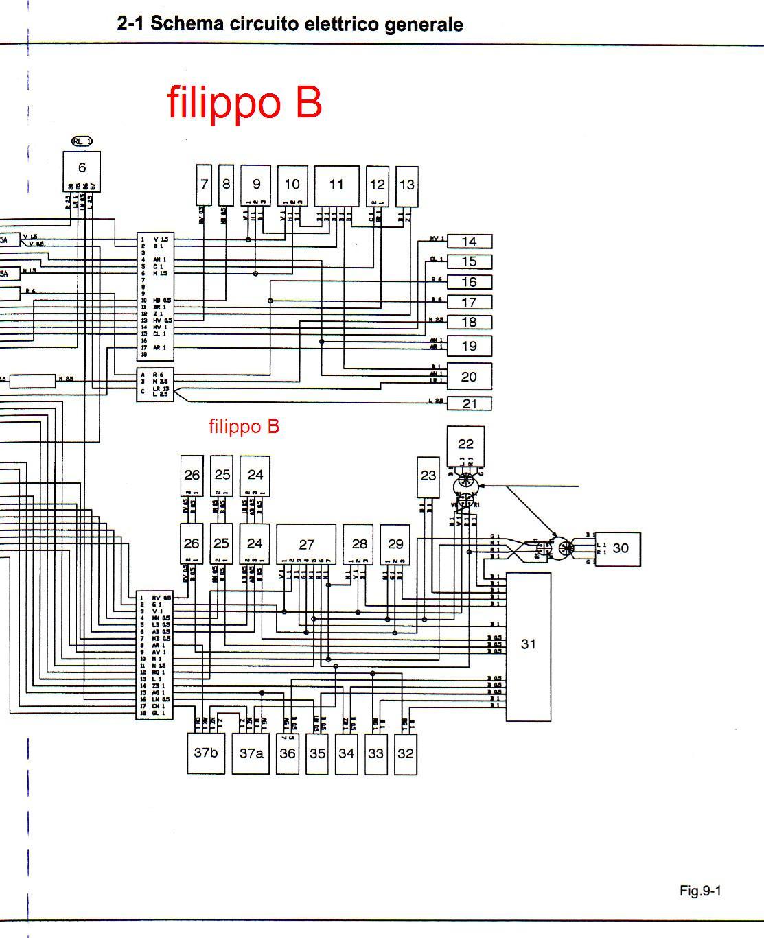 Schema Elettrico : Schema elettrico tce forum macchine