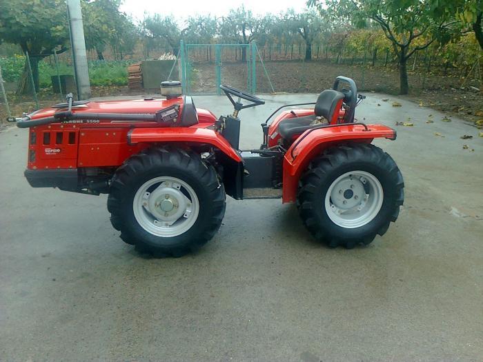Il mio tigrone 5500 con le nuove scarpette for Forum trattori carraro