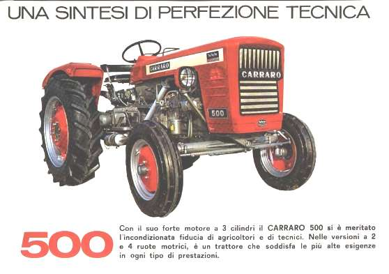 Carraro 500 for Forum trattori carraro